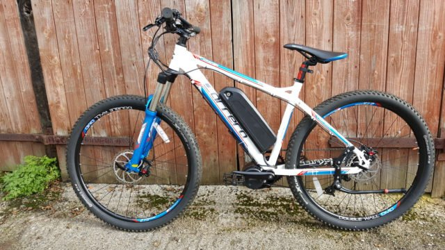 bafang bbs01b 250w fitted to mountain bike