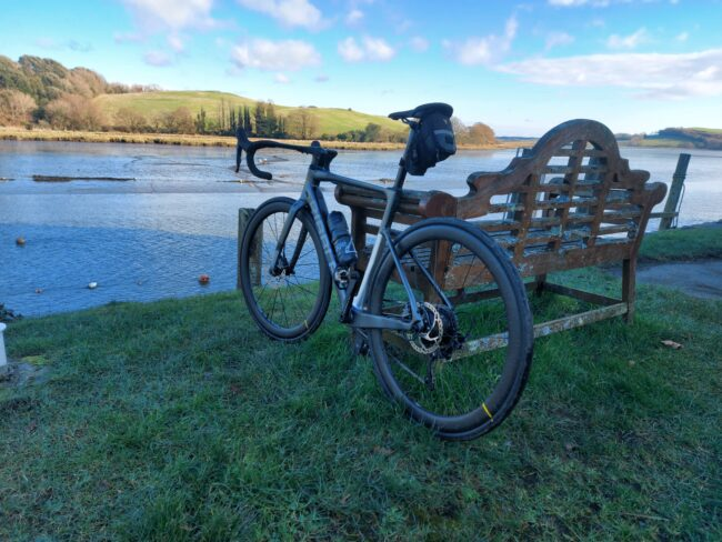 ribble endurance sle pictured by a river