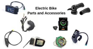 electric bike spare parts