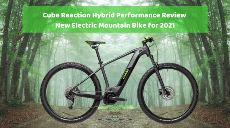 cube reaction hybrid performance electric mountain bike review