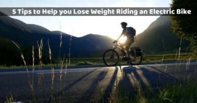 lose weight riding an electric bike