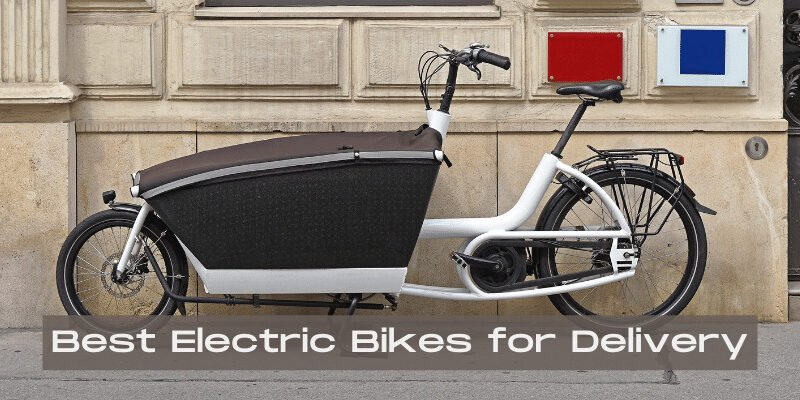 best electric bikes for delivery