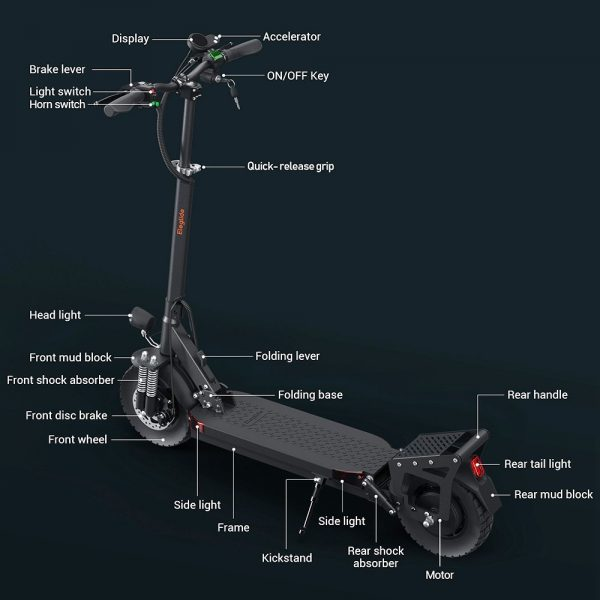 eleglide d1 master electric scooter